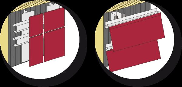 hinterl ftete fassade. Black Bedroom Furniture Sets. Home Design Ideas